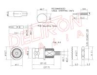 BNC-45L-TGN - Deltron Italia
